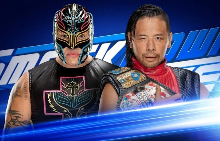Rey Mysterio and Shinsuke Nakamura will clash in a WWE World Cup Qualifying Match at SmackDown 1000