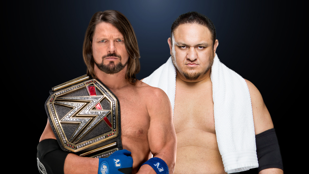 aj styles vs Samoa joe crown jewel 2018