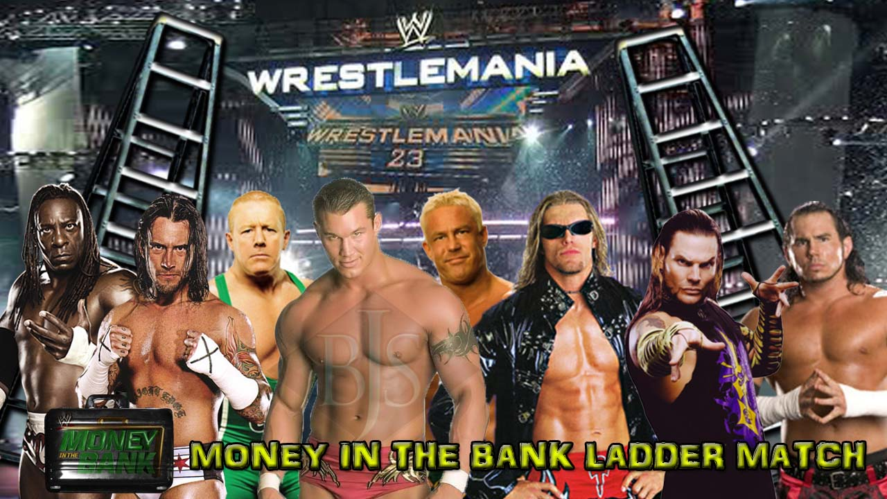 wrestlemania 2007 money in the bank ladder match