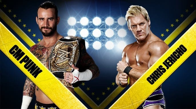 Wrestlemania 2012 CM Punk vs Chris Jericho