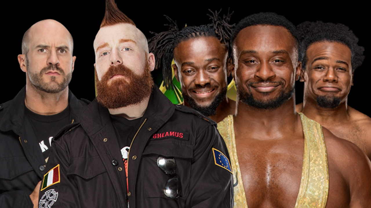 The Bar vs. The New Day SmackDown Tag Team Champions 2018 crown jewel
