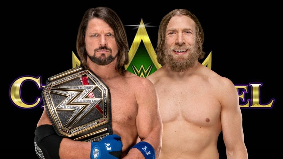 AJ Styles vs. Daniel Bryan WWE Crown Jewel 2018