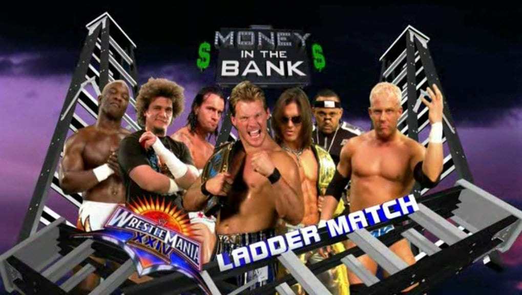 WRESTLEMANIA 2008 money in the bank ladder match