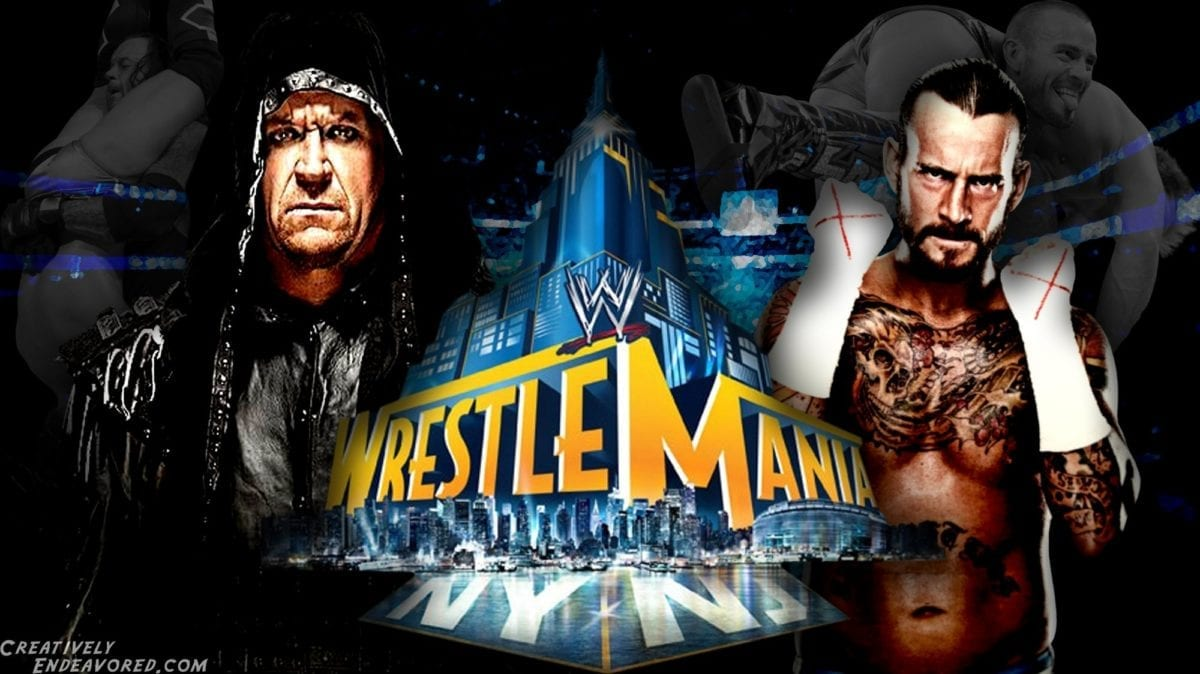 undertaker vs cm punk wrestlemania 2013