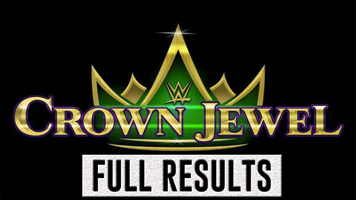WWE CROWN JEWEL 2018 RESUTLS