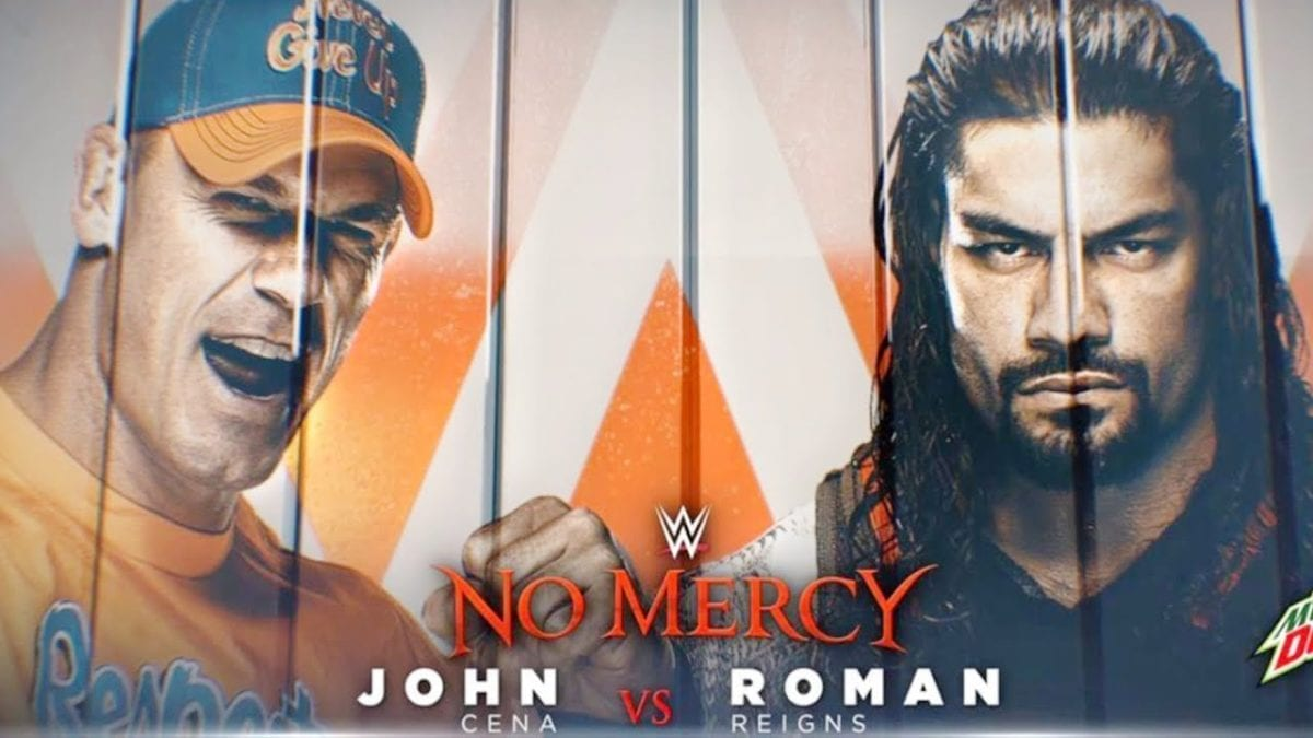 John Cena vs Roman Reigns no mercy 2017