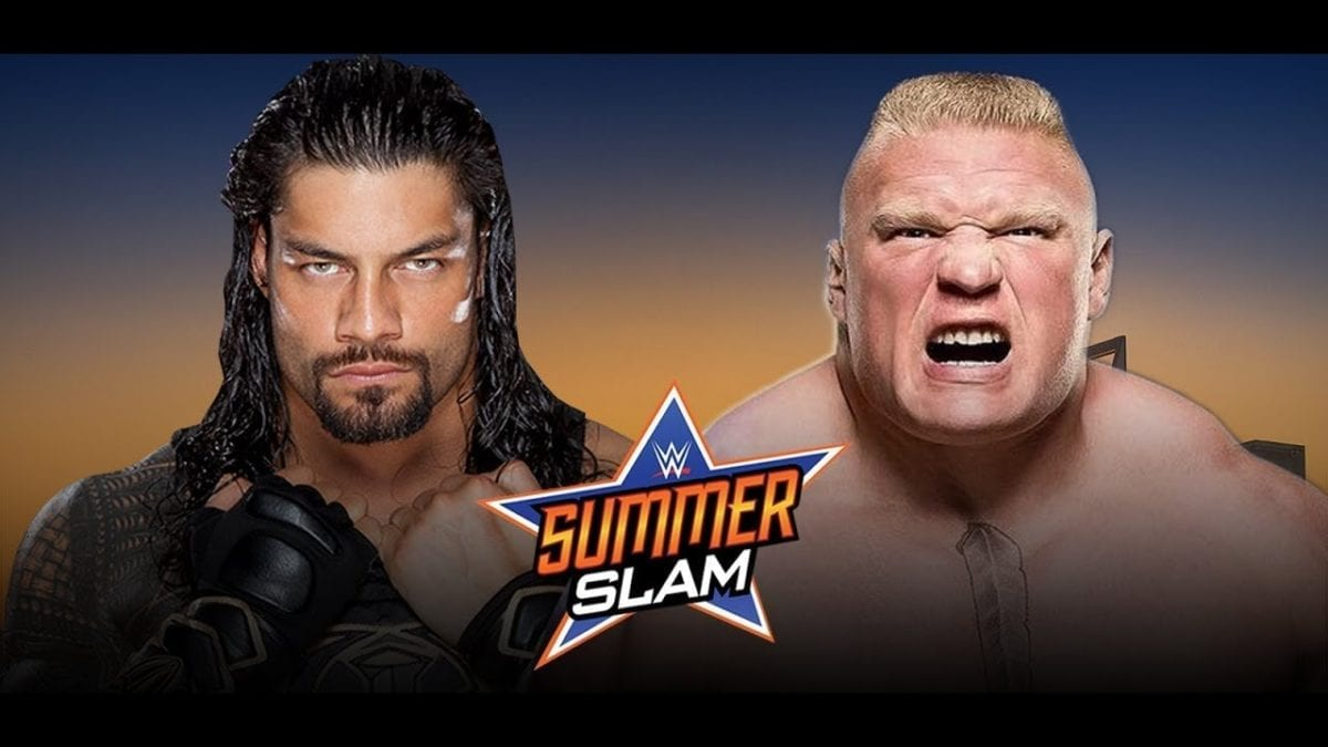 Roman Reigns VS Brock Lesnar Summerslam 2018