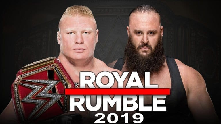 Strowman vs Lesner match at Royal Rumble is canceled!
