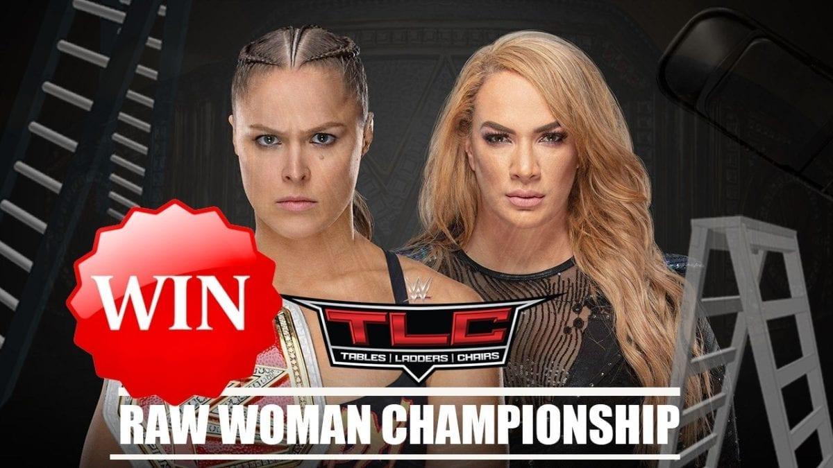 "Ronda Rousey defeats Nia Jax to retain the ""RAW"" women's championship"