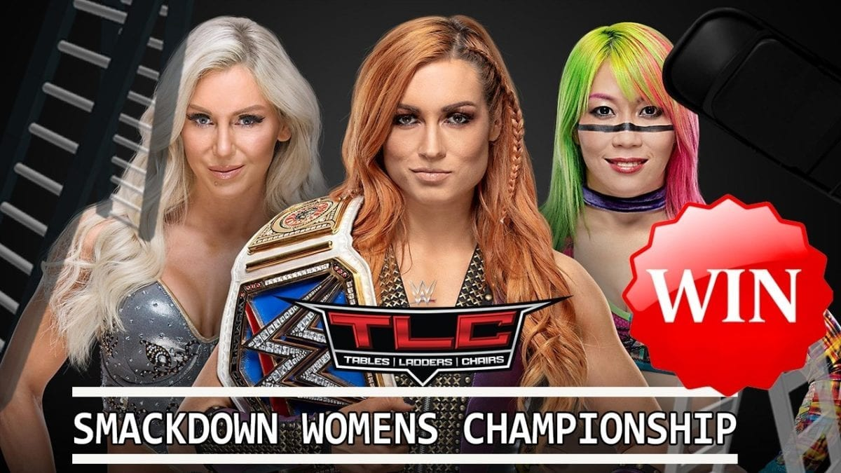 Asuka def.Becky Lynch &Charlotte Flair become new SmackDown women's champion
