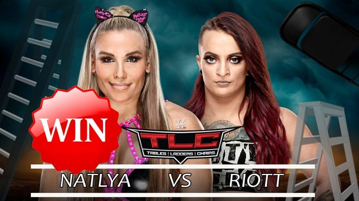Natalya def. Ruby Riott (Tables Match)