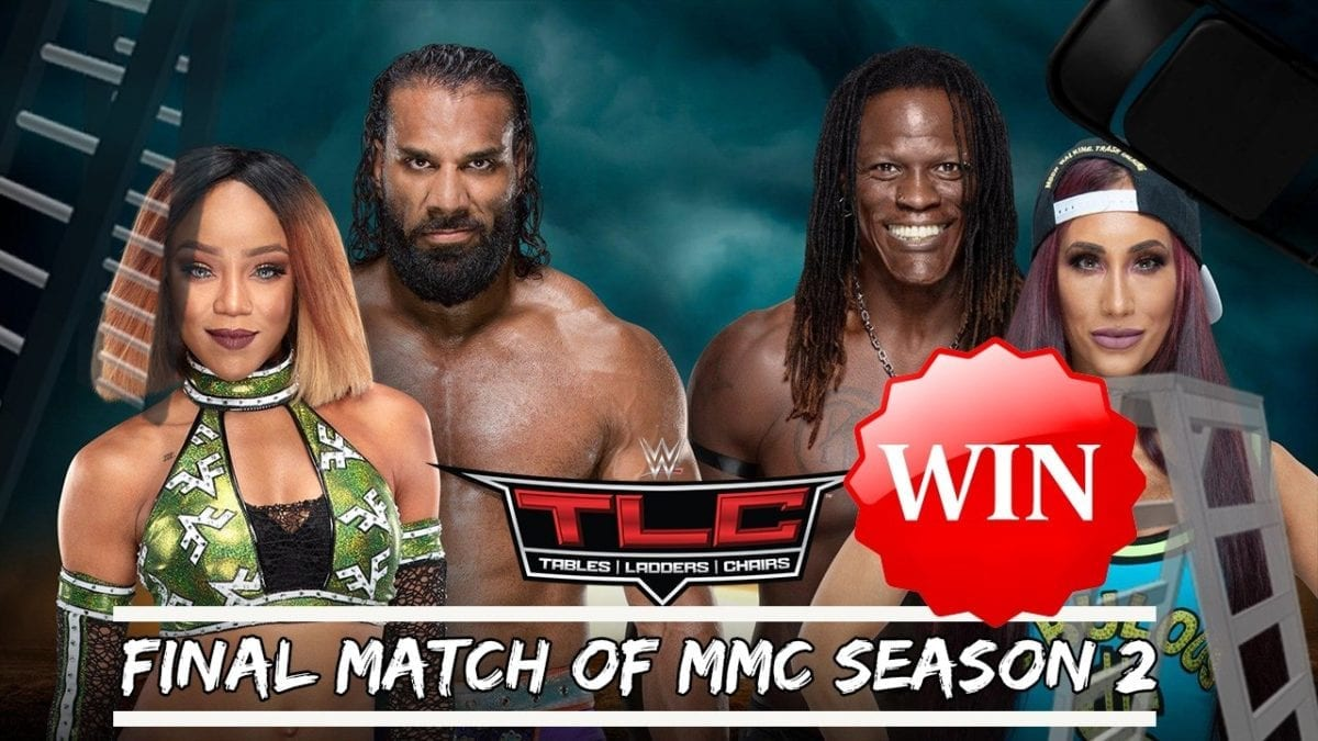 Carmella & R-Truth def. Jinder Mahal & Alicia Fox to win Season 2 of Mixed Match Challenge