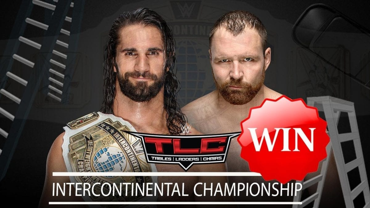 Dean Ambrose def. Seth Rollins to become the new Intercontinental Champion