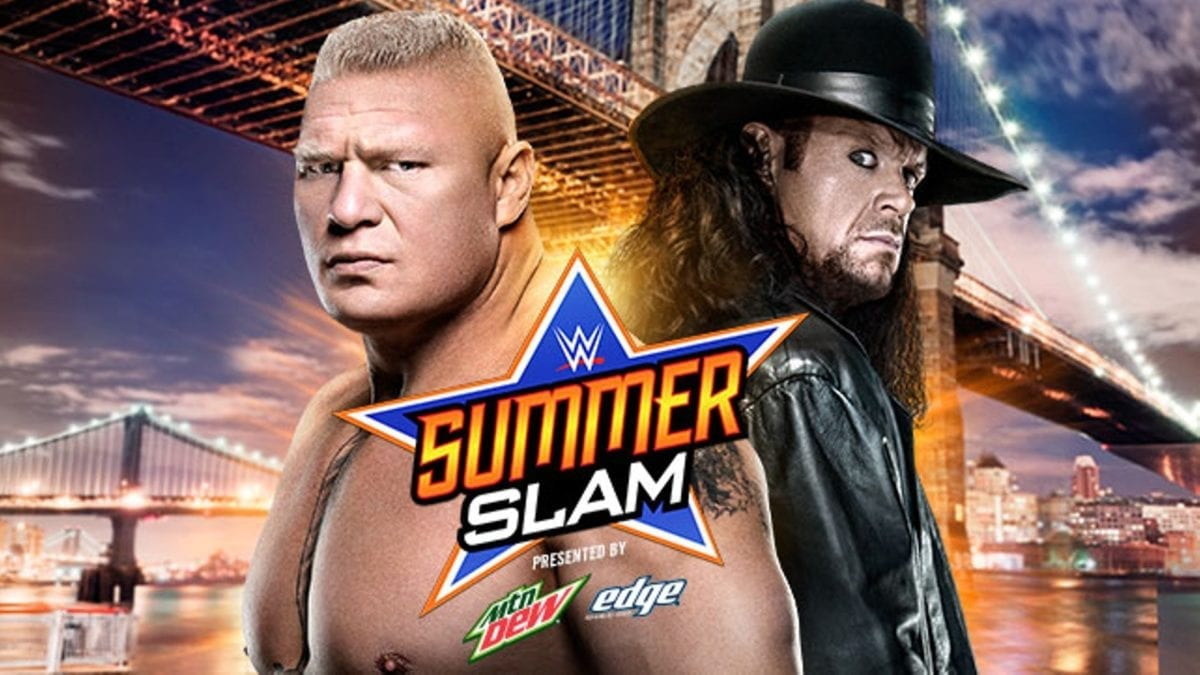 Brock Lesnar vs undertaker summerslam 2015