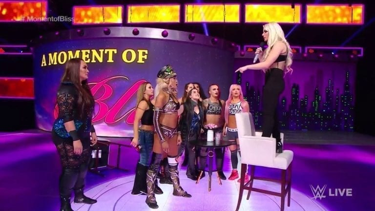 Alexa Bliss announced her comeback at Royal Rumble