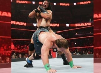 Cena Injured at Raw