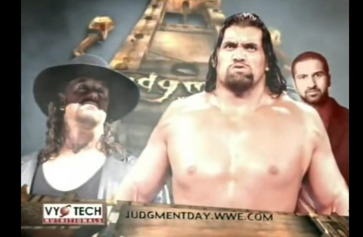 The Great Khali vs The Undertaker, Judgement Day 2006