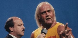 Mean Gene with Hulk Hogan