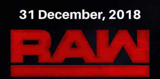 WWE RAW Results 31/12/2018