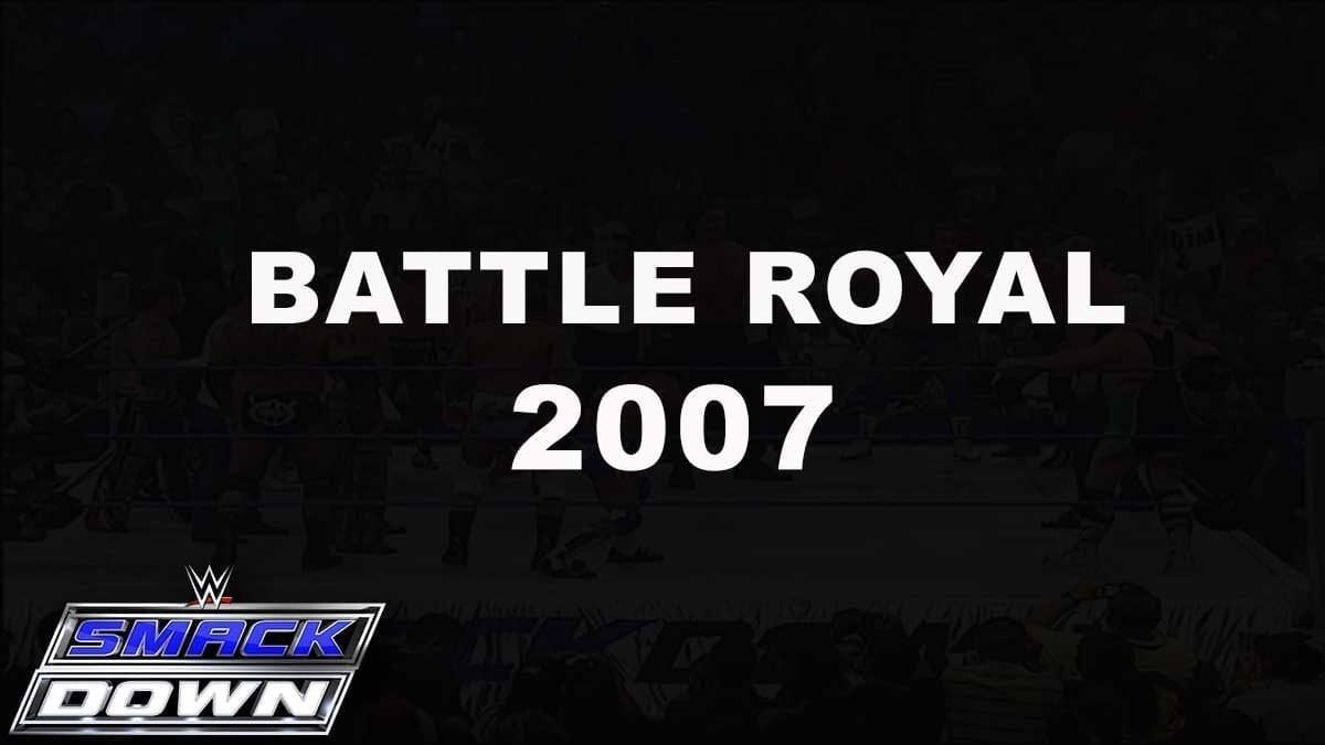 SmackDown Battle Royal for WWE World Heavyweight Championship 2007