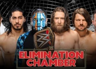daniel bryan vs jeff hardy vs a.j. styles vs randy orton vs mustafa ali vs samao joe elimination chamber 2019