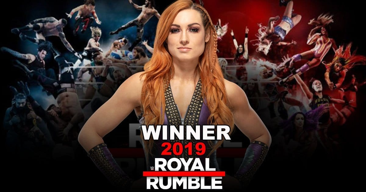 Becky lynch royal rumble 2019
