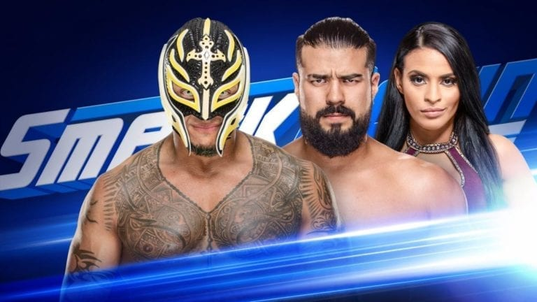 Andrade vs Mysterio again at SmackDown and more matches this week