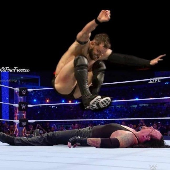 Finn Balor vs Undertaker WrestleMania 35, Finn Balor Instagram Undertaker