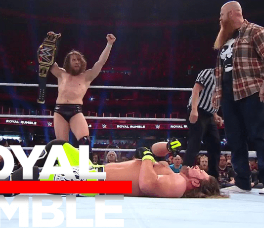 Daniel Bryan Won in Royal Rumble 2019