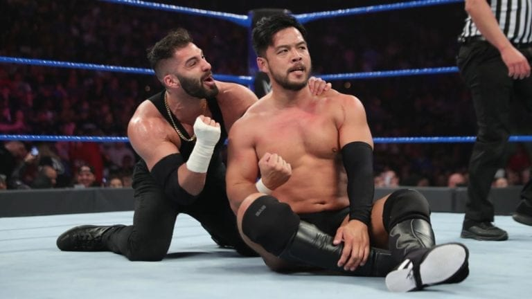Hideo Itami defeated Cedric Alexander to qualify for the Cruiserweight Championship fatal four-way match at the Royal Rumble