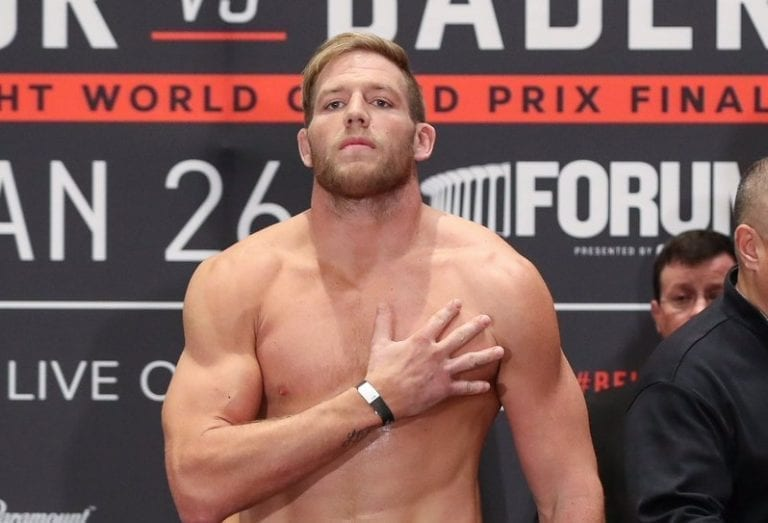 Jack Swagger wins on his MMA debut