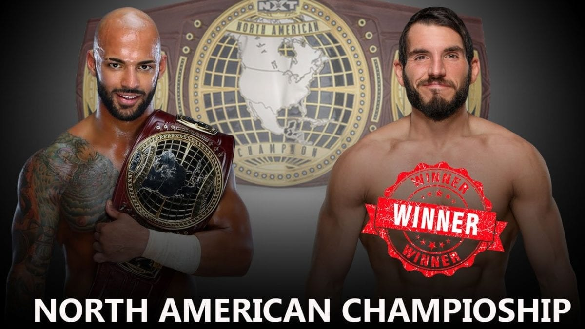 NXT North American Championship Match - Ricochet (c) vs. Johnny Gargano