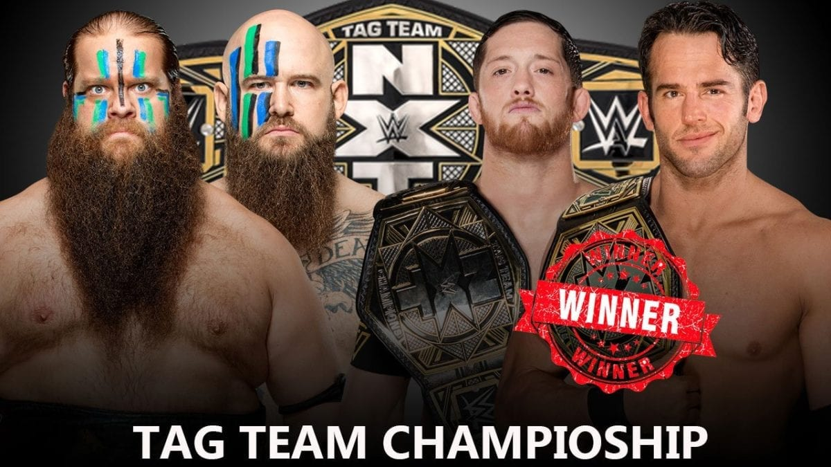 NXT Tag Team Championship Match - The Undisputed ERA (c) vs. The War Raiders