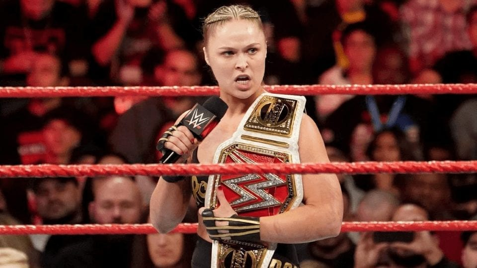 Ronda Rousey Leave WWE