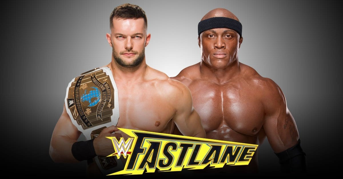 Finn Balor C Vs Bobby Lashley Wwe Intercontinental Championship