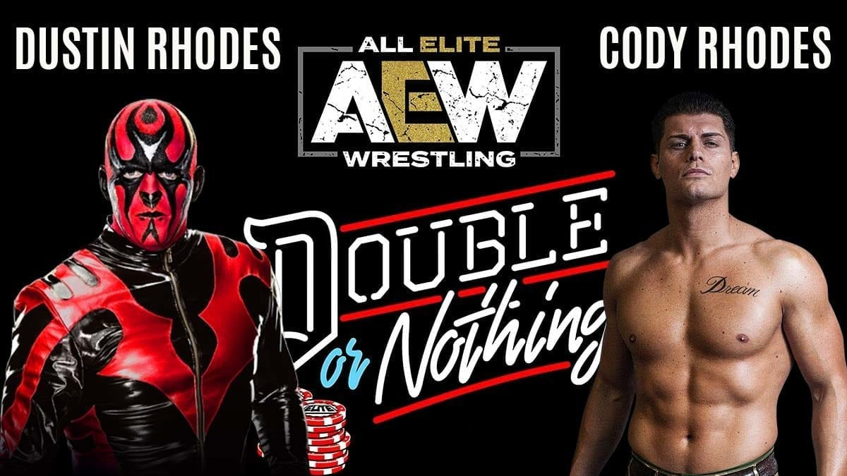 Cody Rhodes vs Dustin Rhodes AEW Double or Nothing