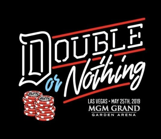 Double or Nothing Poster, AEW Double or Nothing