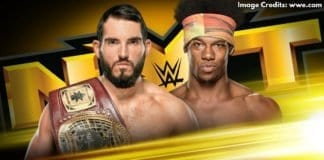 Johnny Gargano vs Velveteen Dream NXT North American Championship