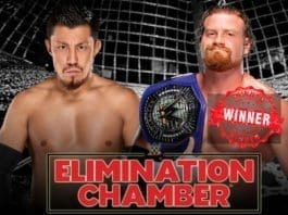 cruiserweight championship elimination chamber 2019