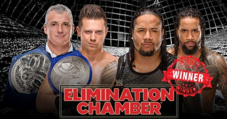 Elimination Chamber 2019: The Usos are the new SmackDown Tag Team Champions