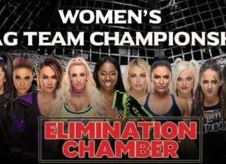 womans tag team championsahip Elimination chamber 2019