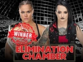 Wwe Raw woman's championship elimination chamber 2019