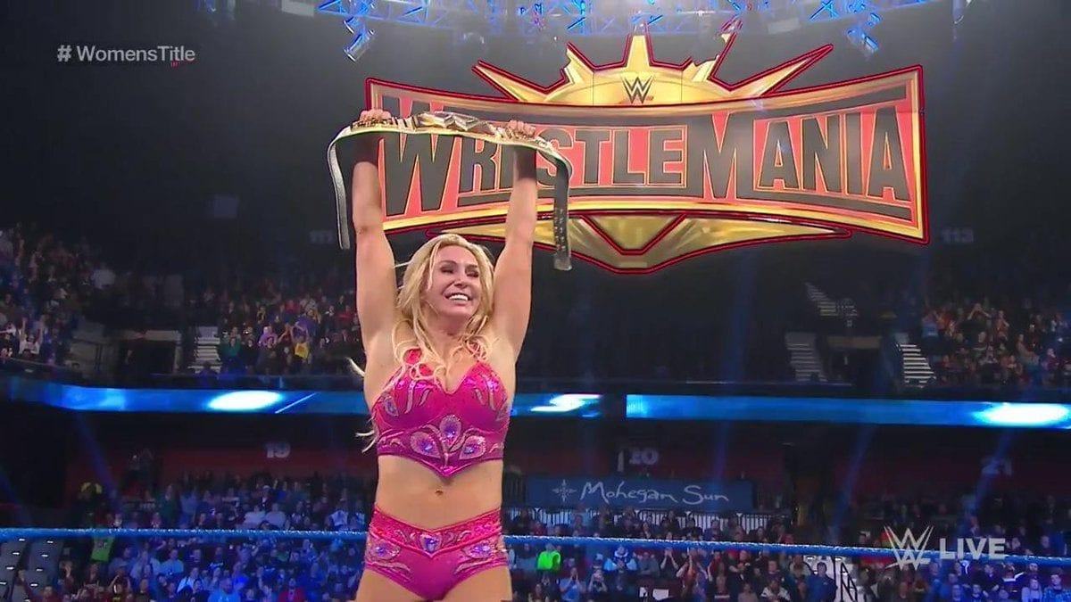 Charlotte Flair SmackDown 26 March 2019