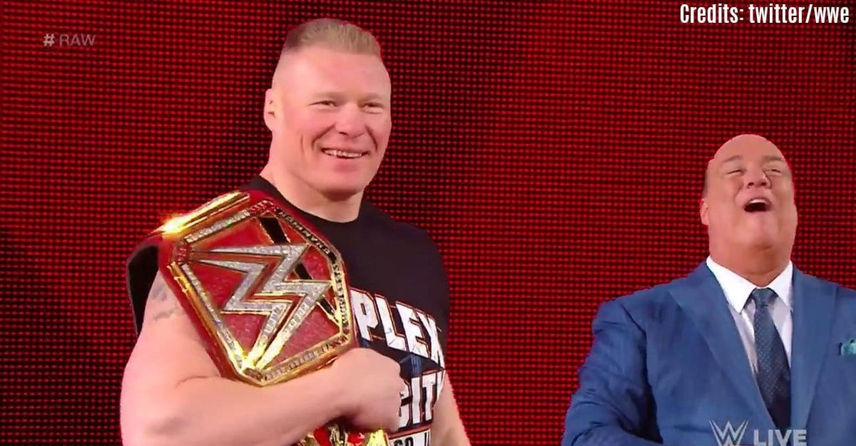 Brock Lesnar, Brock Lesnar Paul Heyman