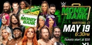 WWE Money in the Bank announcement