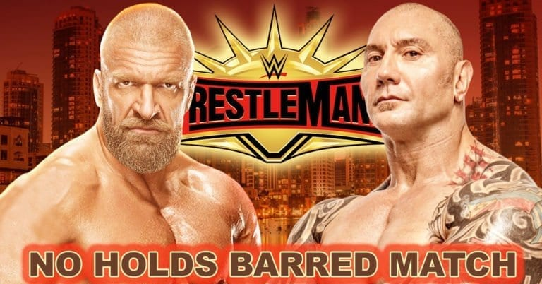 Triple H accepts Bautista's challenge for WrestleMania 35 Match with added Stipulation