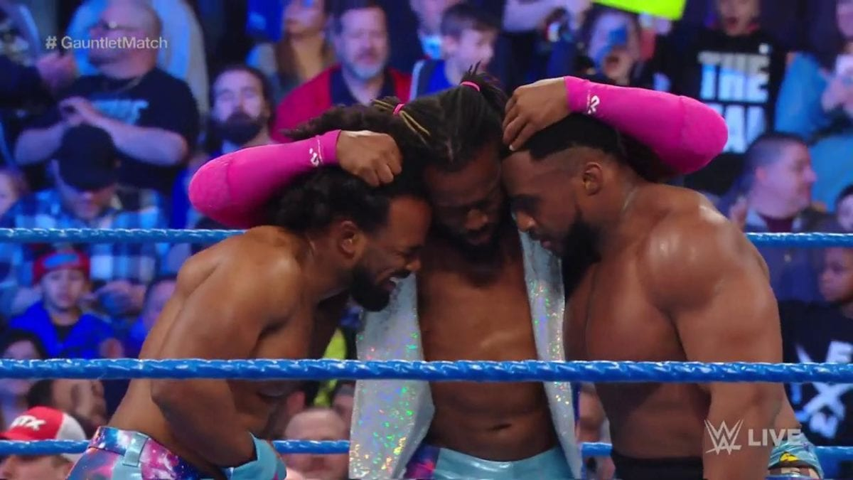 The New Day Gauntlet Match