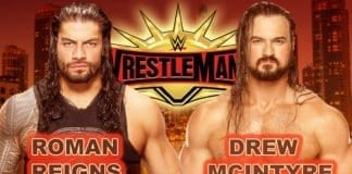 Roman Reigns vs Drew McIntyre WrestleMania 35,