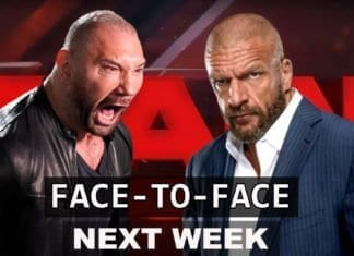 Triple H comes face-to-face with Batista
