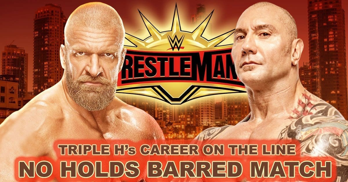 Batista vs Triple H No Holds Barred